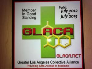GLACA standing
